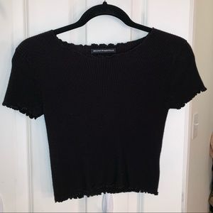 Brandy Melville ribbed T-shirt